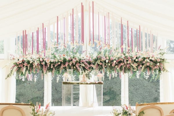 A Luxurious Marquee Wedding