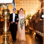 Fabulous Wedding Flowers for an Oxford University Winter Wedding