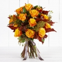 Luxury Autumn Rose Bouquet