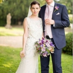 Gothic Fairytale Wedding Flowers at Aynho Park