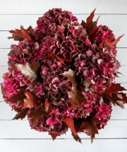 The Autumn Hydrangea Bouquet