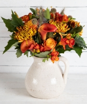 Autumn Rustic Jug