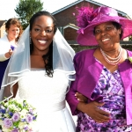 Rachel and Peters' Purple Wedding at The Crooked Billet