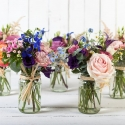 Jam Jar Table Centres