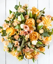 Peach Spring Bouquet