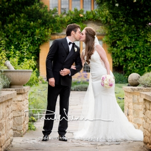 Marissa and James' soft and romantic Le Manoir Wedding