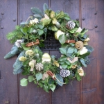 Fabulous Flowers Christmas Wreath Road Show
