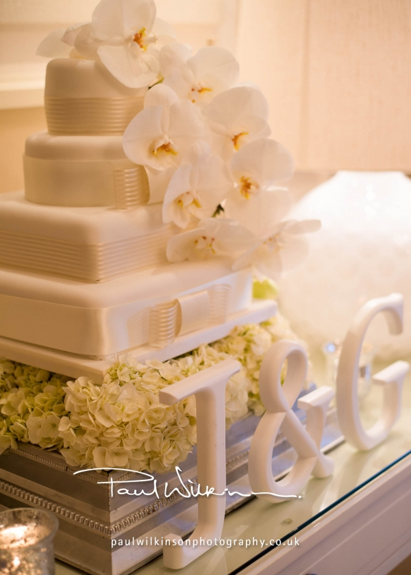 Intimate White Orchid Wedding
