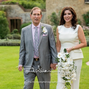 Intimate White Orchid Wedding at Le Manoir in Oxfordshire