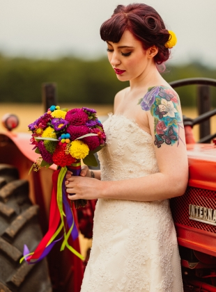 Rockabilly Styled Wedding Shoot