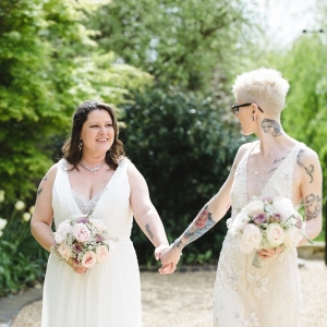 A Romantic, Pastel Wedding at Tythe Barn, Launton.