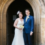Suzanne and Lee's Yellow Wedding at Merton College