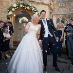 Wedding Flowers for a Stylish Notley Abbey Wedding