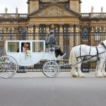 A White Wedding at Blenheim Palace