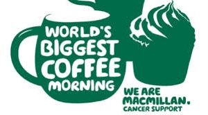 Flowers, Coffee and Cake for Macmillan
