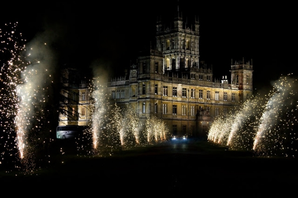 Weddings at Downton Abbey