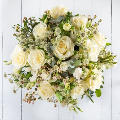 The White Spring Bouquet