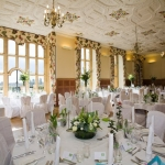 Green and White Wedding at Eynsham Hall