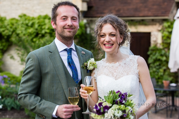 Iona and Dans Garden Wedding at Le Manoir aux Quat'Saisons