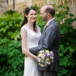 Flowers for Louise and Adams Oxford University Wedding