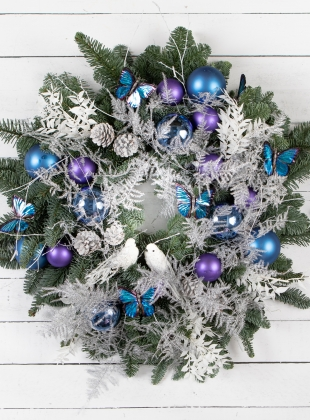 Charity Christmas Wreath