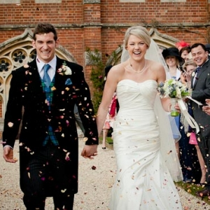 Ollie and Emily's Radley College Spring Wedding