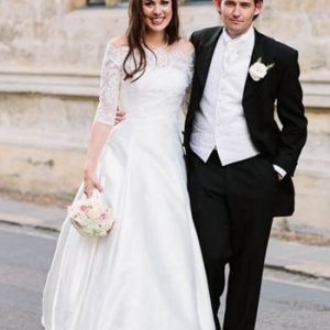 A Charming Oxford College Wedding