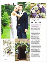 Fabulous Flowers, as seen in Brides Magazine