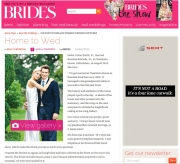 Wedding of the week Bridal Magazine: Helen and Brandon