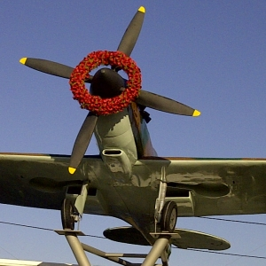 Rememberance Day Wreath to Honour the Female Pilots of The ATA