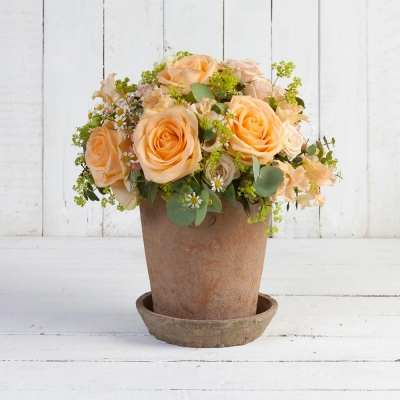 Rustic Pot Table Centre