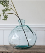 Statement Recycled Glass Vase
