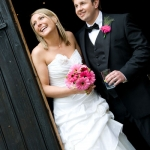 A Gerbera Tastic Wedding at Laines barn Wantage