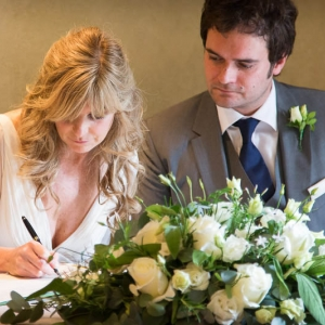 Wedding Flowers at Le Manoir,Oxfordshire