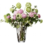 Hand-tied Bouquet Vase LSA