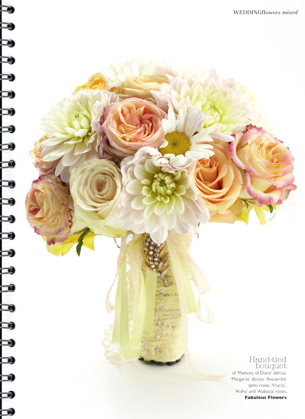Fabulous Flowers For A Bridal Shoot For Wedding Flowers Magazine